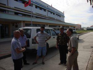 Takim me profesore ne Kamez mbi panelet fotovoltaike